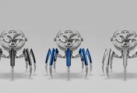 Необычные настольные часы Octopod от MB&F and L'Epée 1839