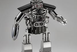 Робот-часы Melchior от MB&F и L'Epee новинка Baselworld 2015.